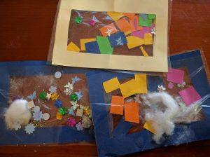Contact Paper Activities