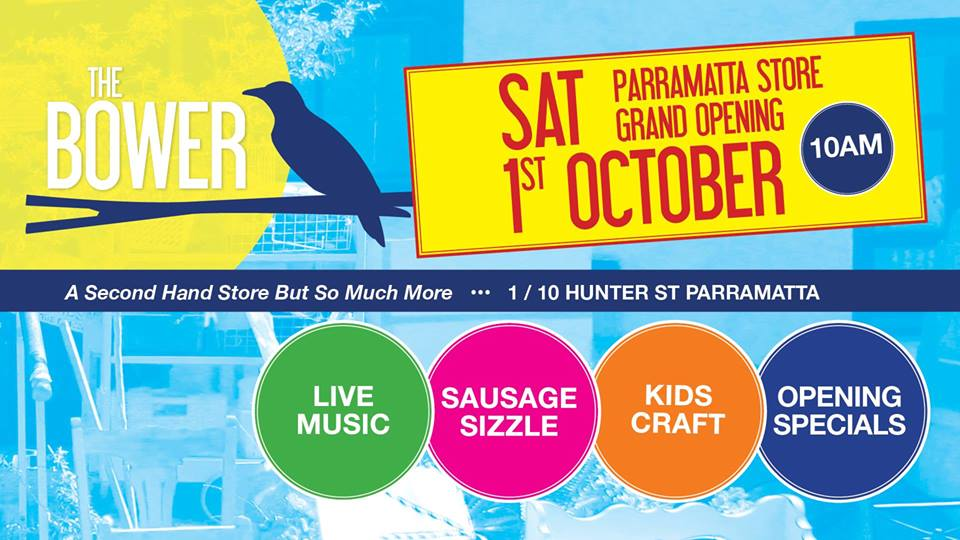 The Bower Parramatta - So Much More Than A Second Hand Store