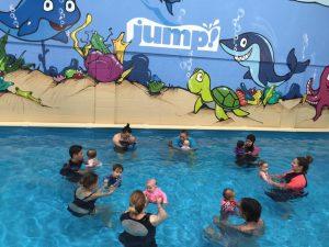 Jump swim school