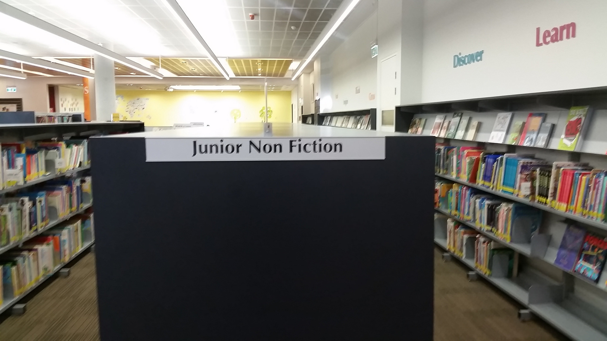 Junior Non Fiction Section Chatswood Library
