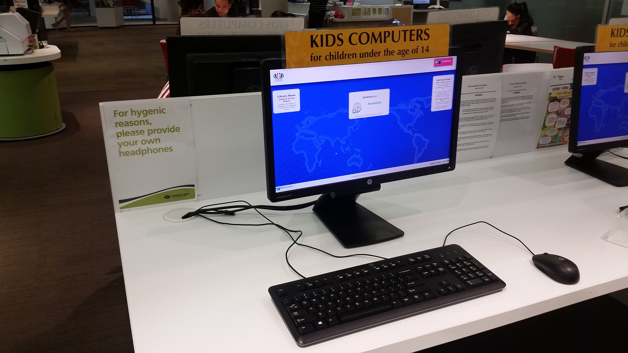 Kids Computer Chatswood Library